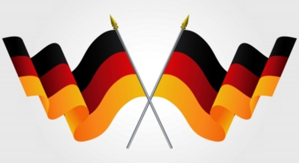 German flags!