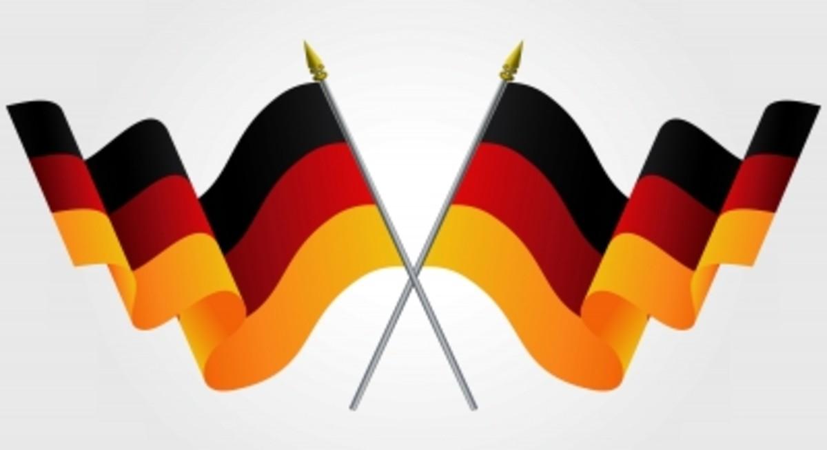 German flags!