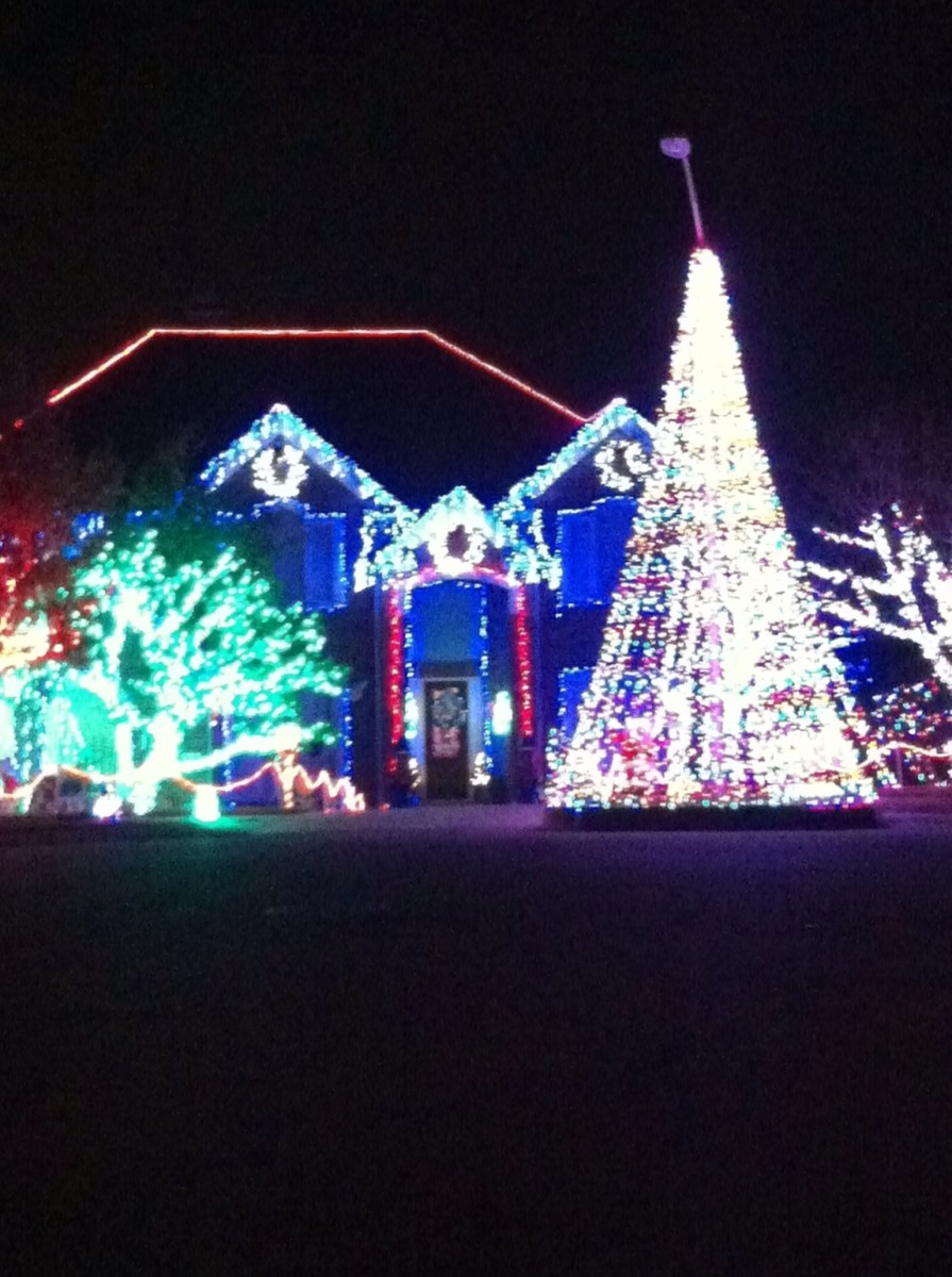 Christmas Lights in Cedar Park, Texas