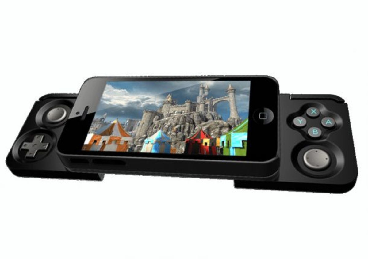 Zagg Caliber Advantage - an iPhone case that opens up into a gaming controller.