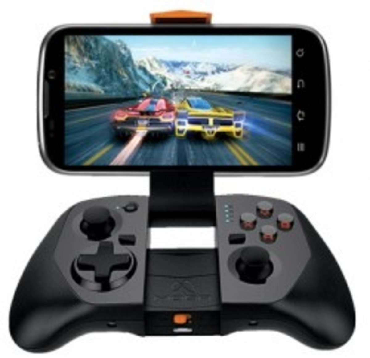 Moga gaming console style controller for your phone.