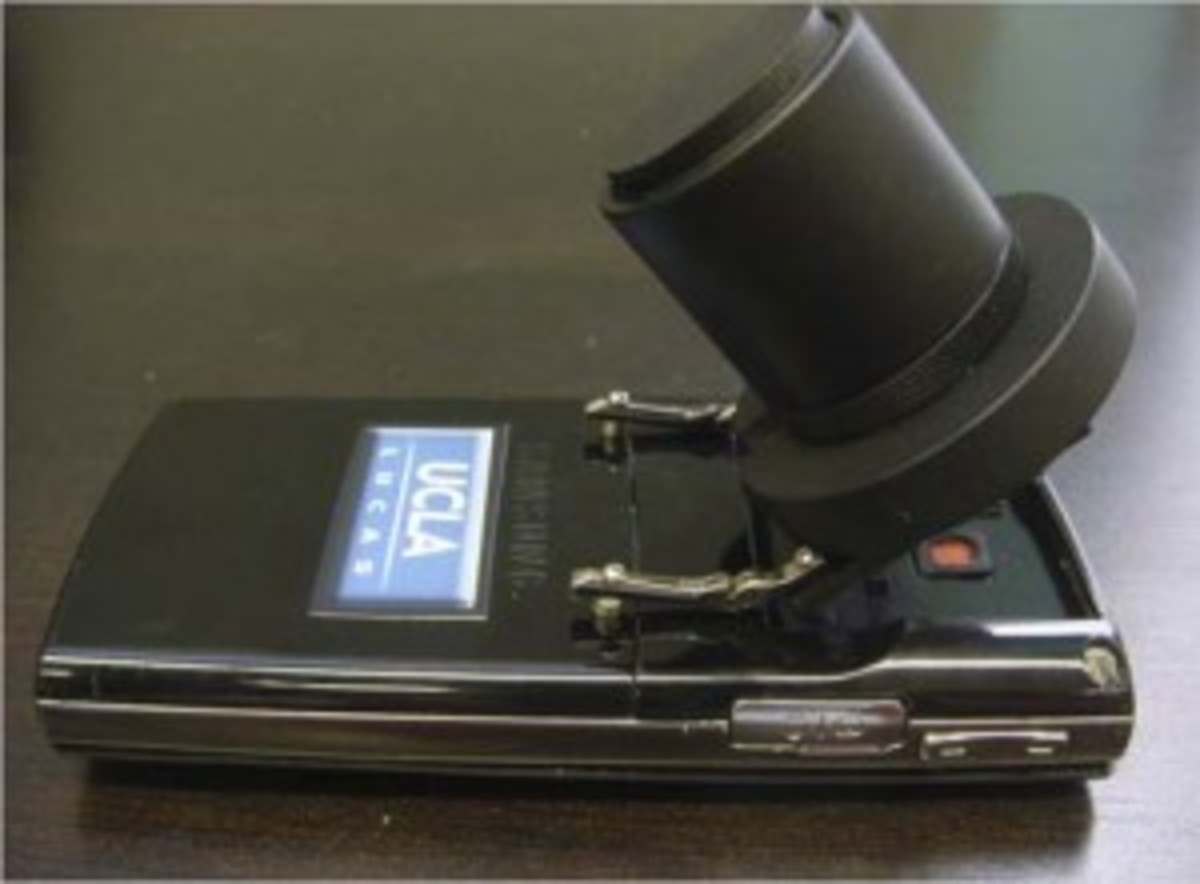 The Microskia microscope.