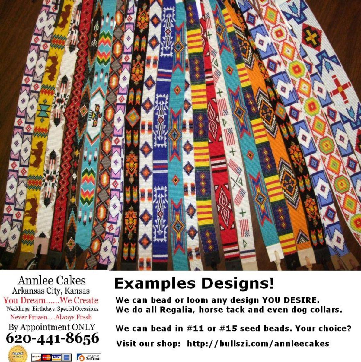 Belts and Hatband Designs