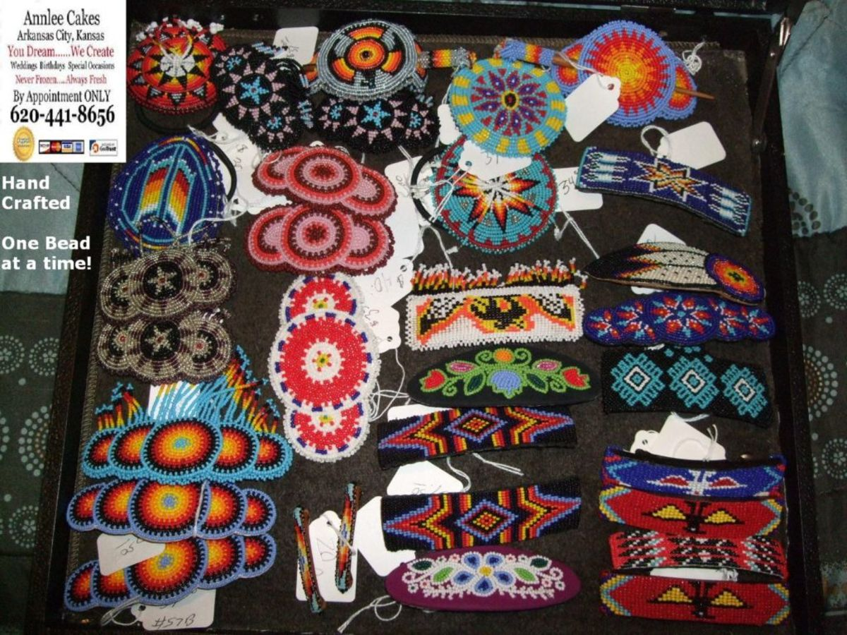 Pow Wow Barrettes.