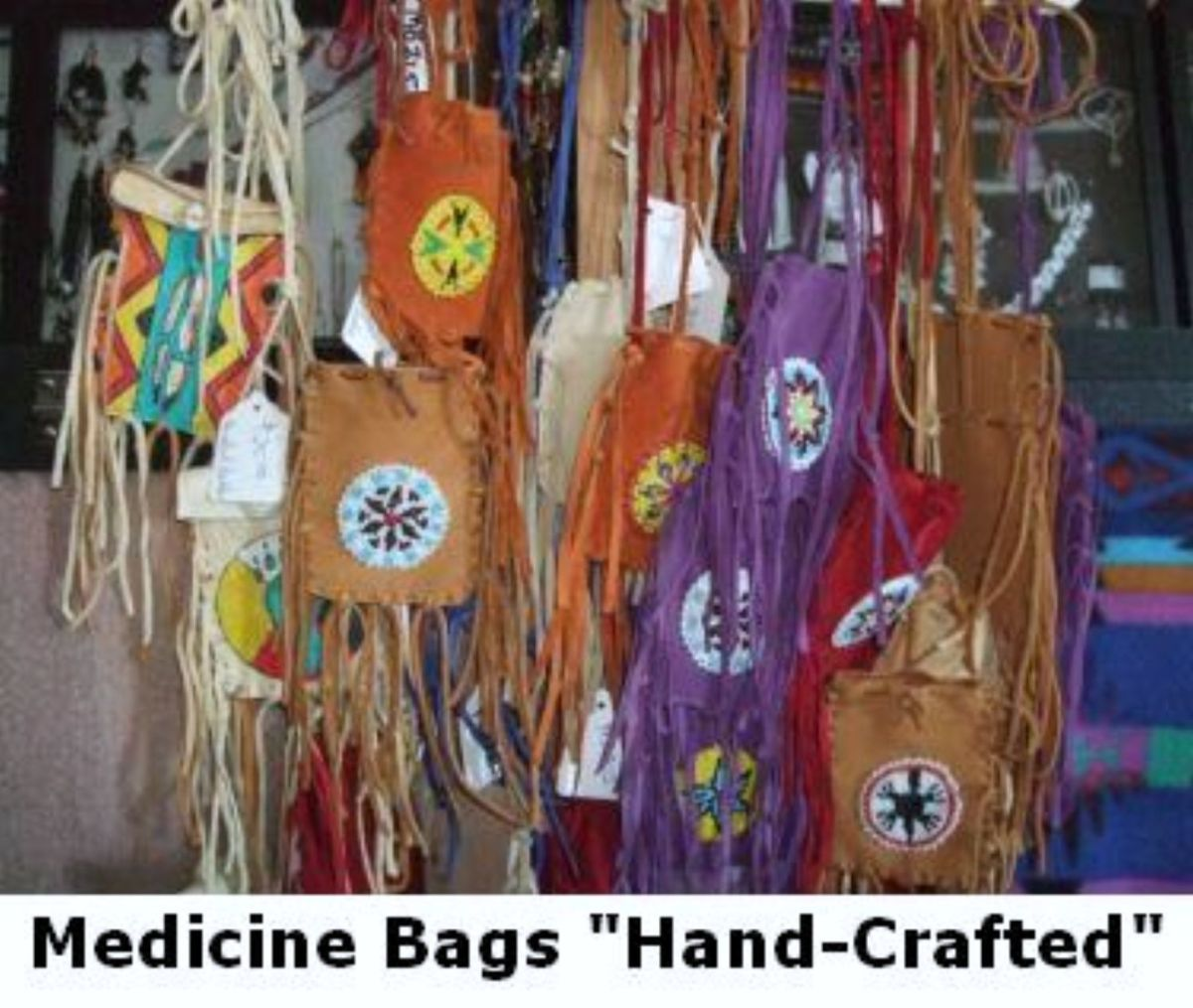 We craft Medicine Bags
