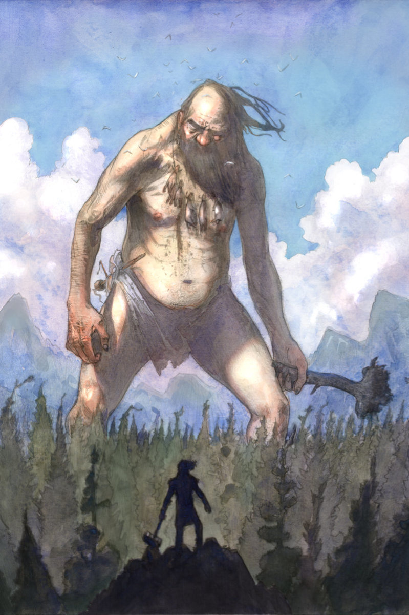 Giants in Mythology.