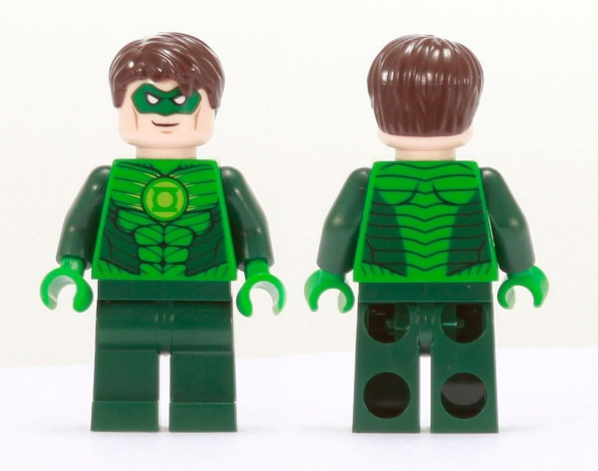 LEGO Green Lantern Minifigure Comic Con 2011