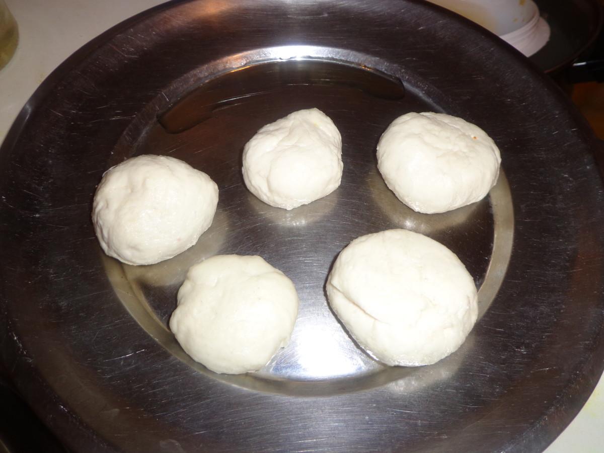 Similarly make all the dough balls