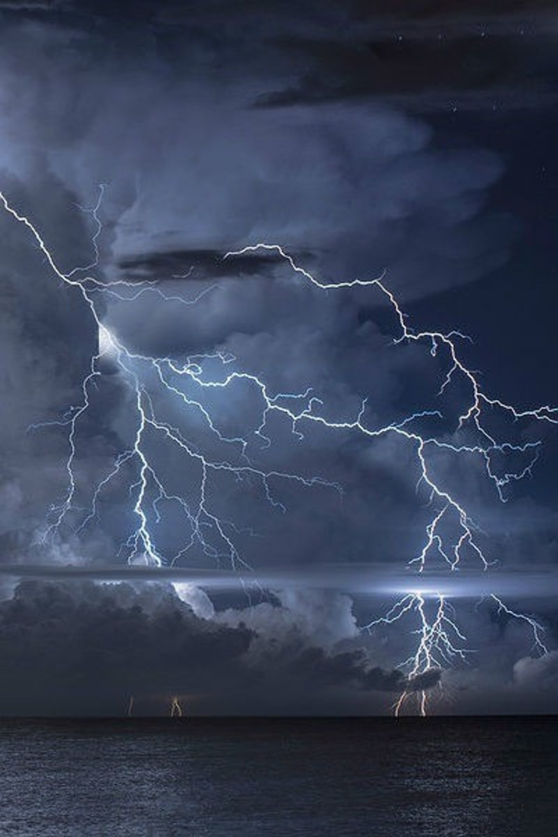 Lightning:  A Poem