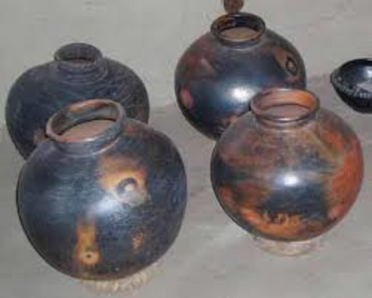 Traditonal Village Pots of Terracotta