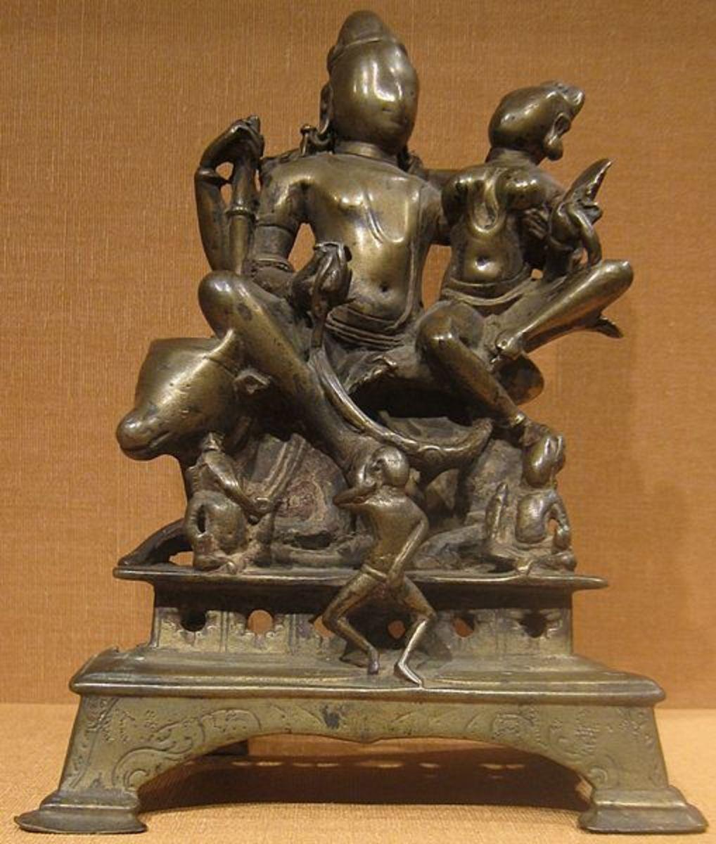 UmÃÂ-Mashevara, India, Himachal Pradesh, c. 10th century, bronze