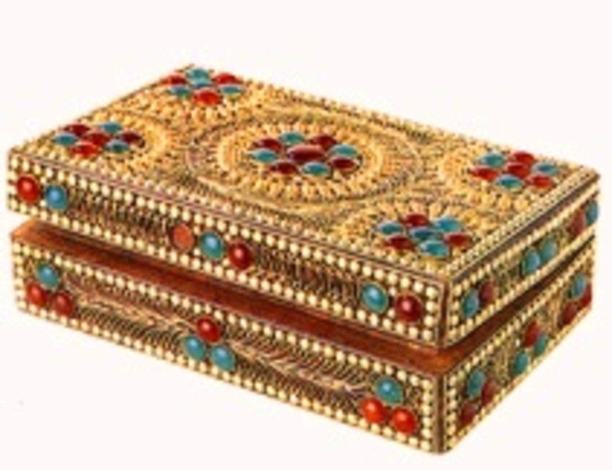Ornamental Jewelry box