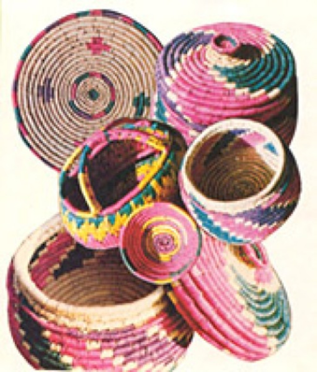 Basket Making in Chamba