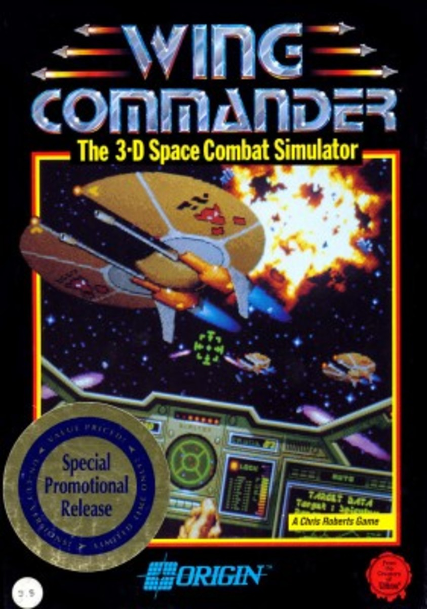 A Classic Series Of Space Combat Games Like Freelancer.