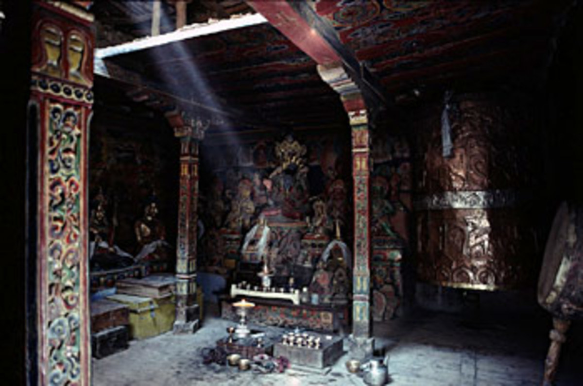 Kungri Gompa, Attargo, Pin Valley
