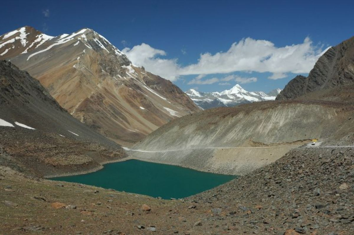 The Suraj Taal Lake