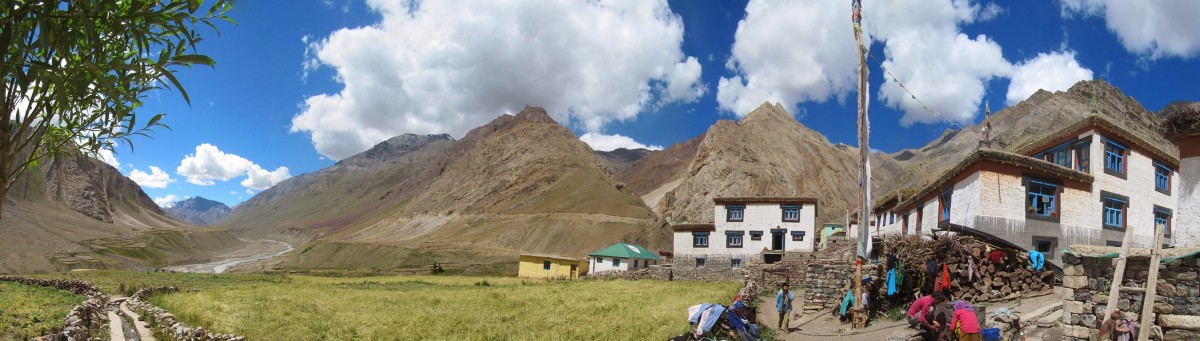 Pano mud.village in Pin valley