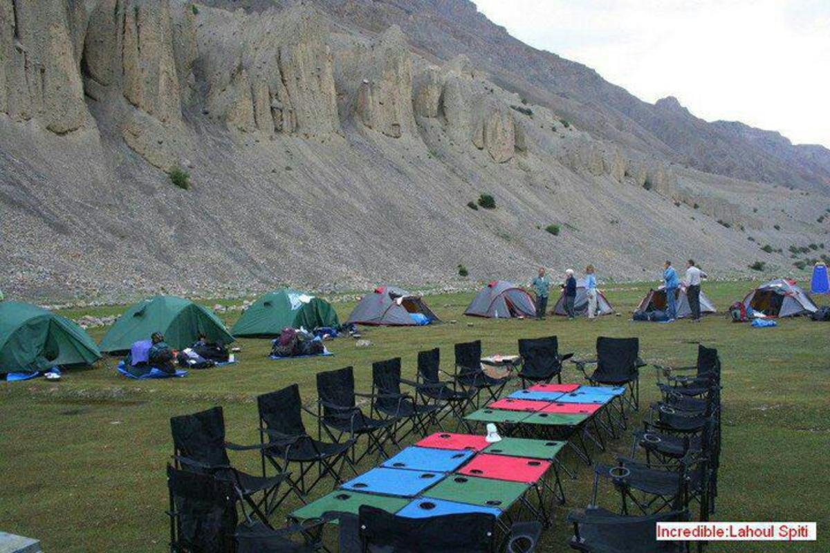 Tourist Camp near Dhankar