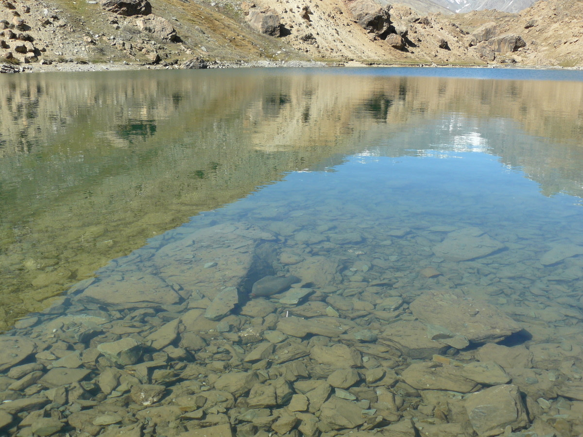 Crystal Clear Waters of Surajtal