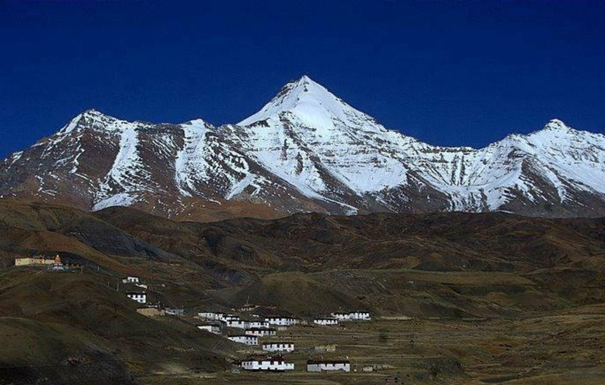Langcha Village at Chho cho khang nelda 6303 mts