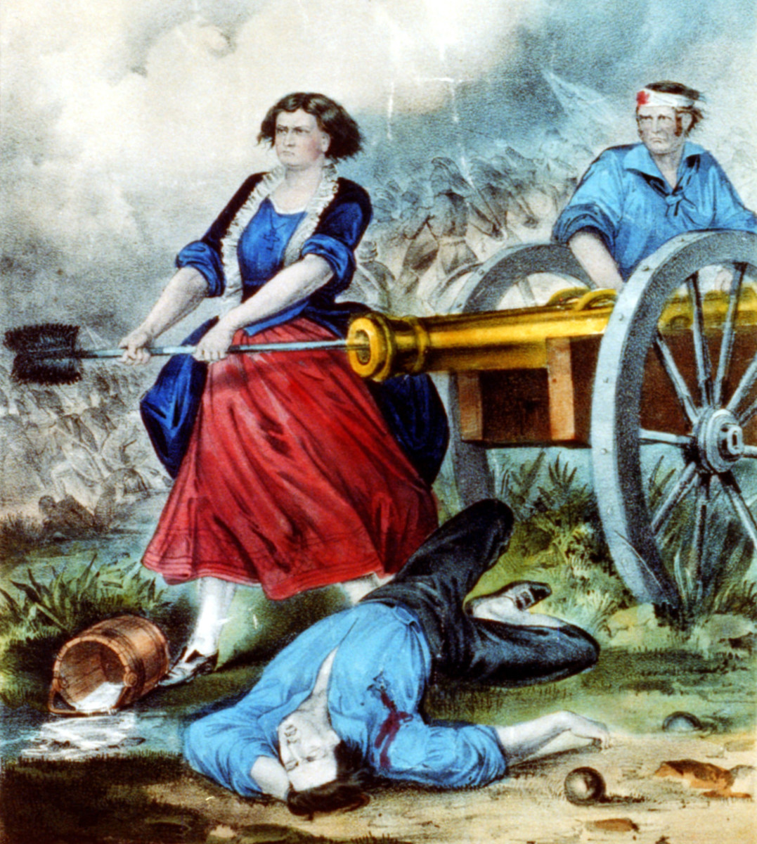 Molly Pitcher, published by Currier & Ives, between 1856 and 1907.