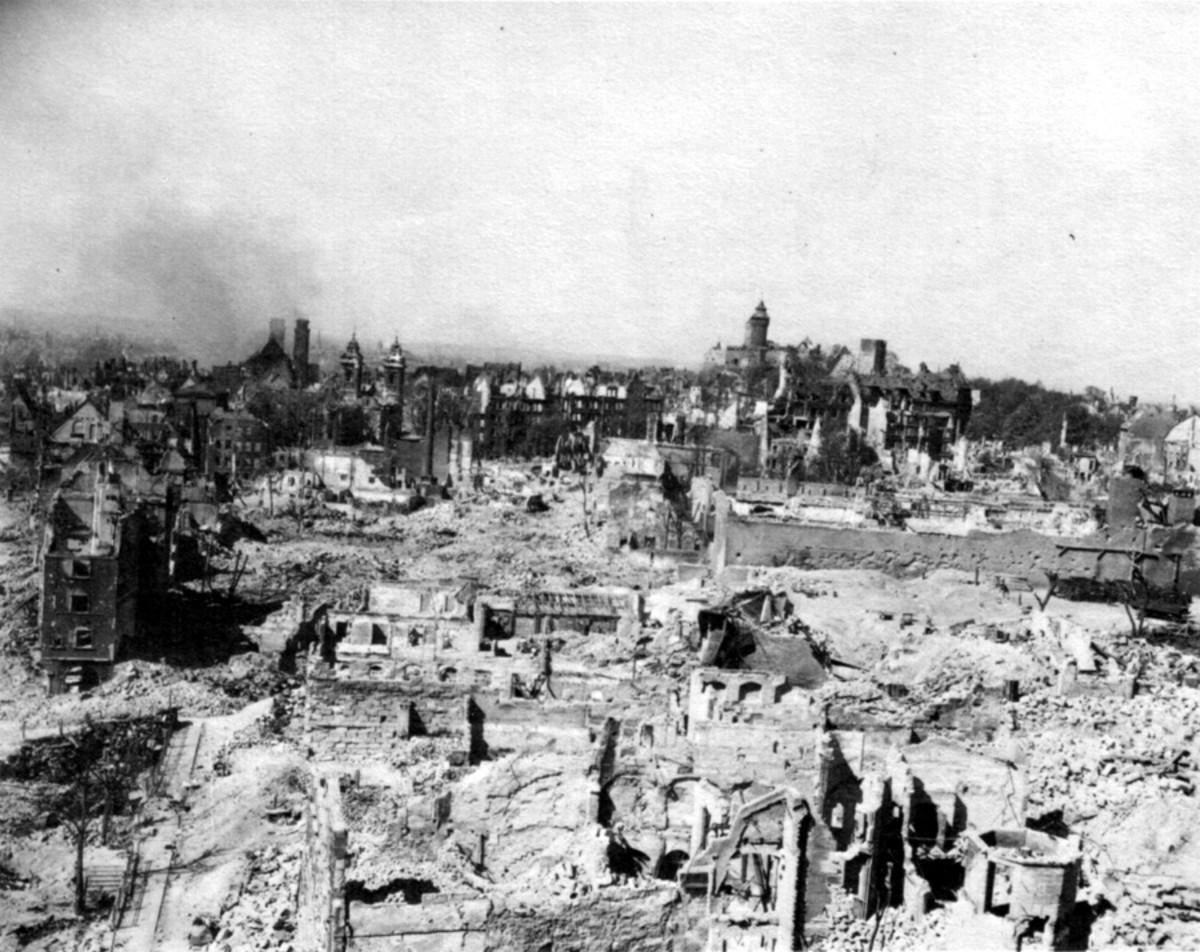 Nuremburg after the war.