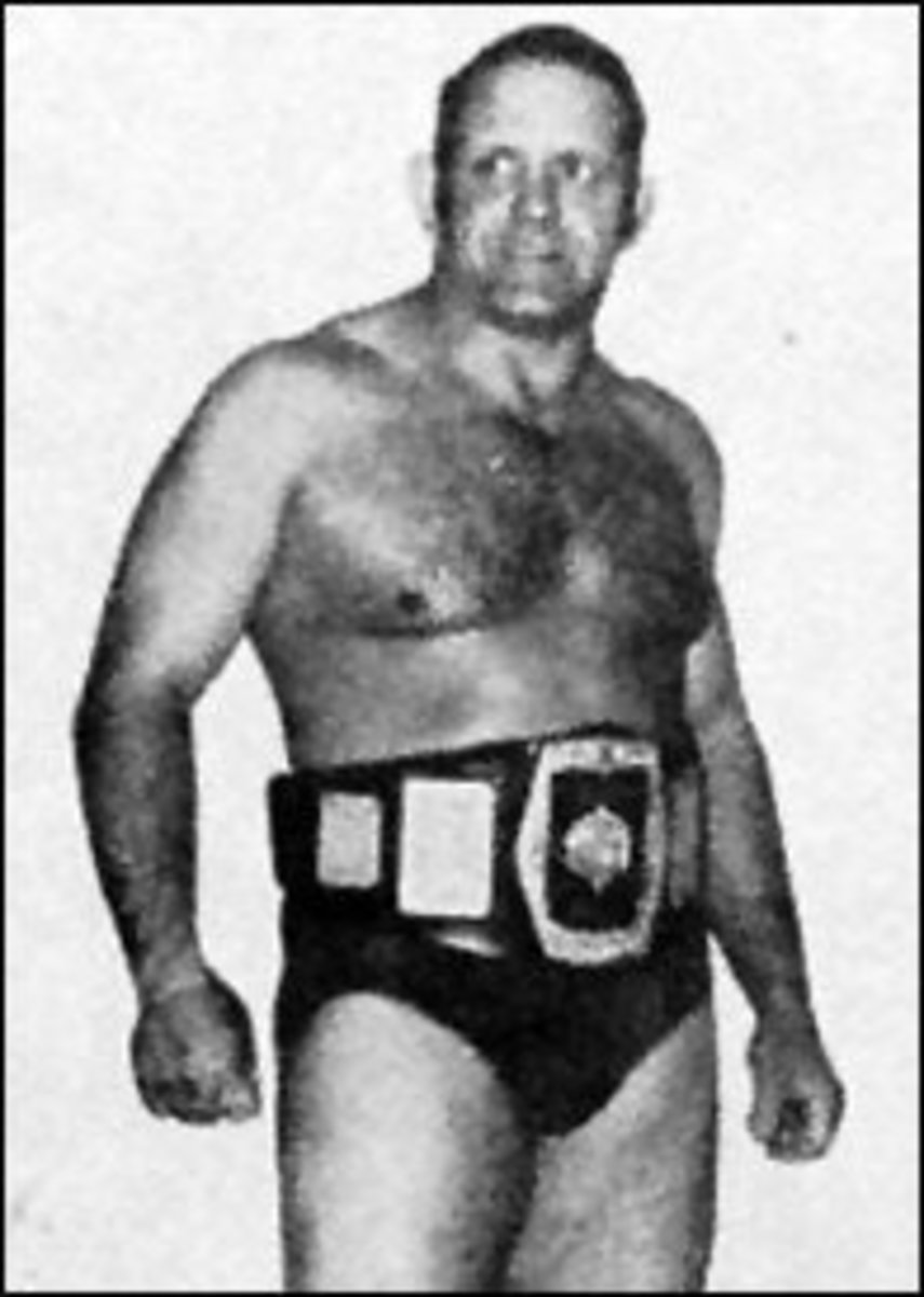 Wheelwright's wrestling legend.