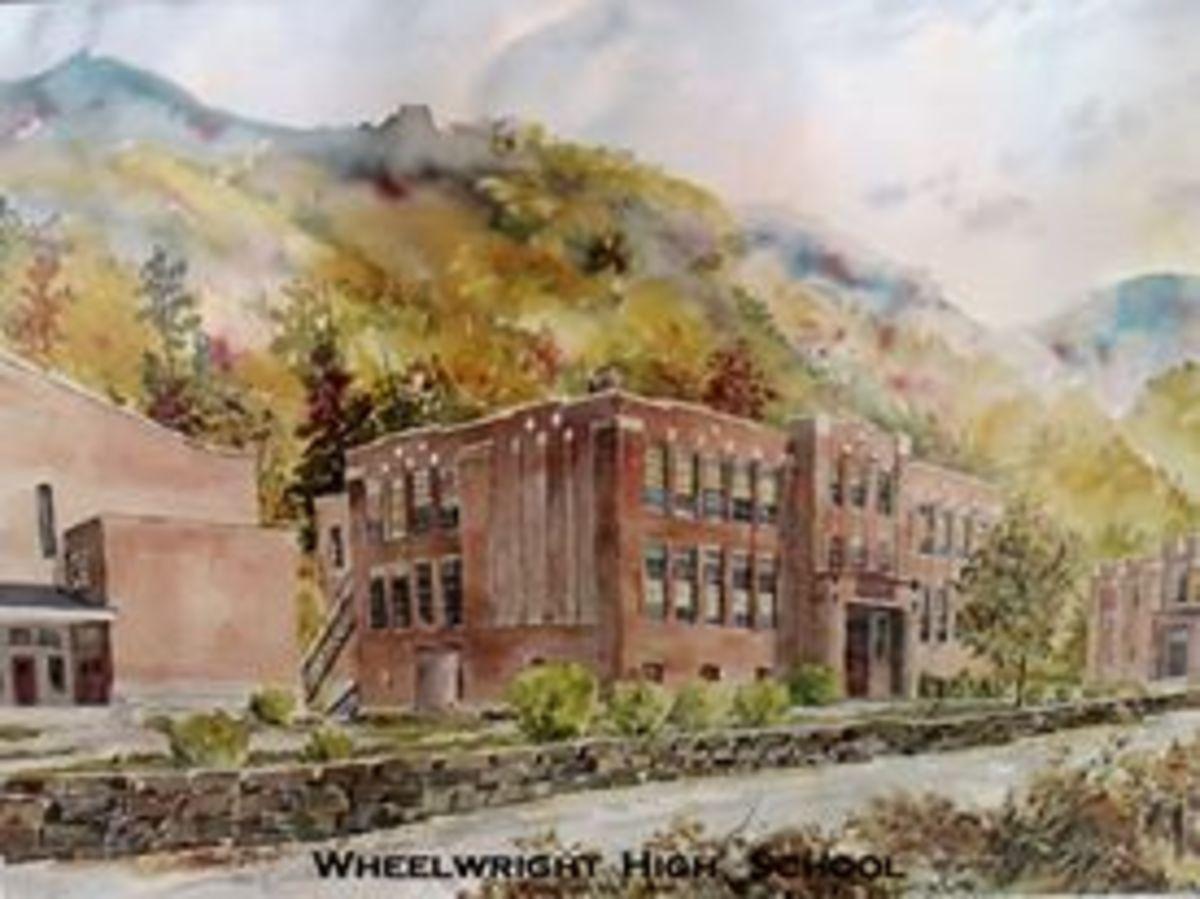 Beautiful image of the school.