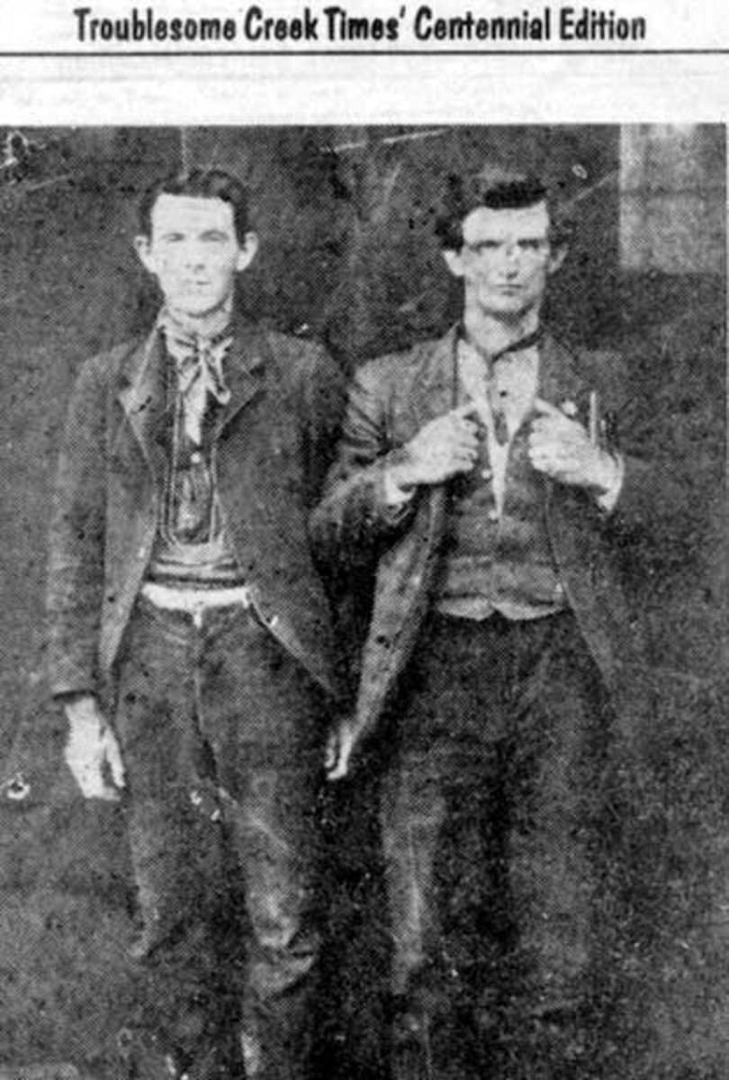 Bad John and Bad Talt Hall, notorious for being rough and tough yet both had a heart of gold.