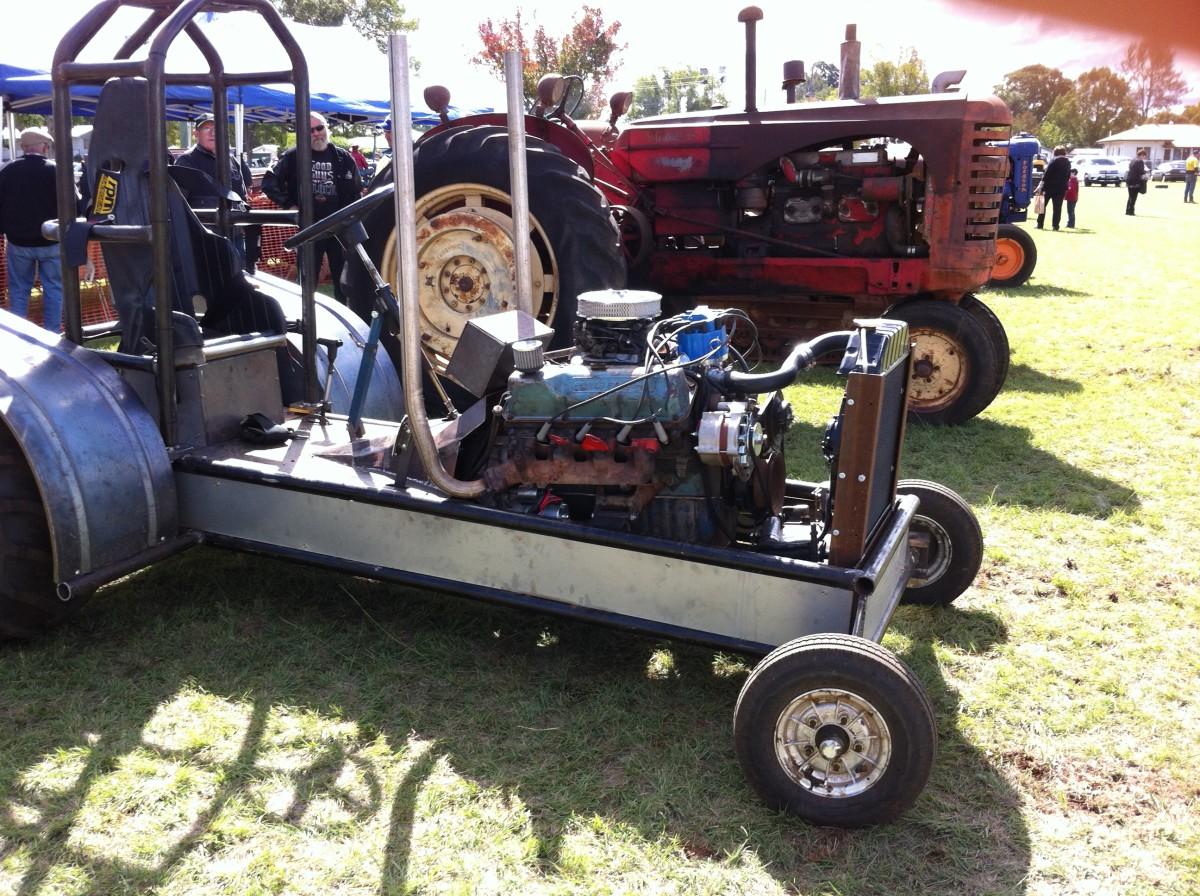 Tractor Display/ Kingaroy Show 2014