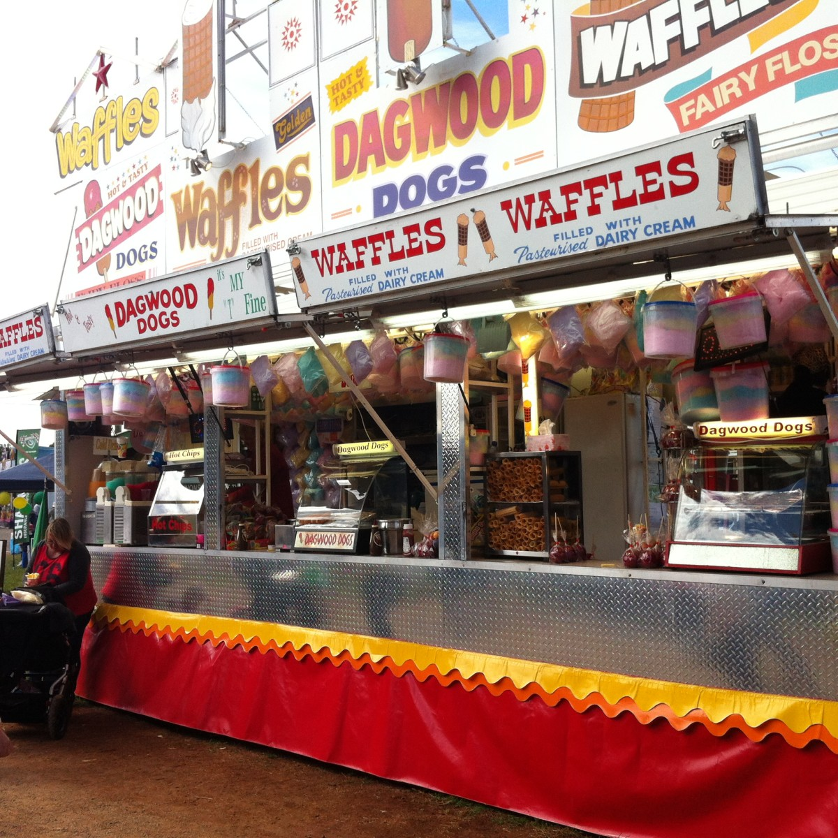 Food Stalls,/Kingaroy Show 2014