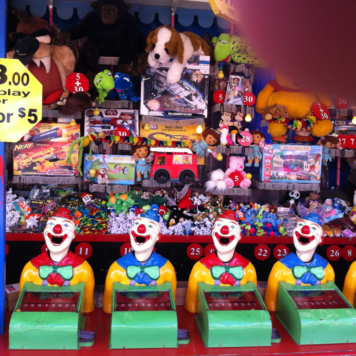 Side-show Clowns/Kingaroy Show 2014