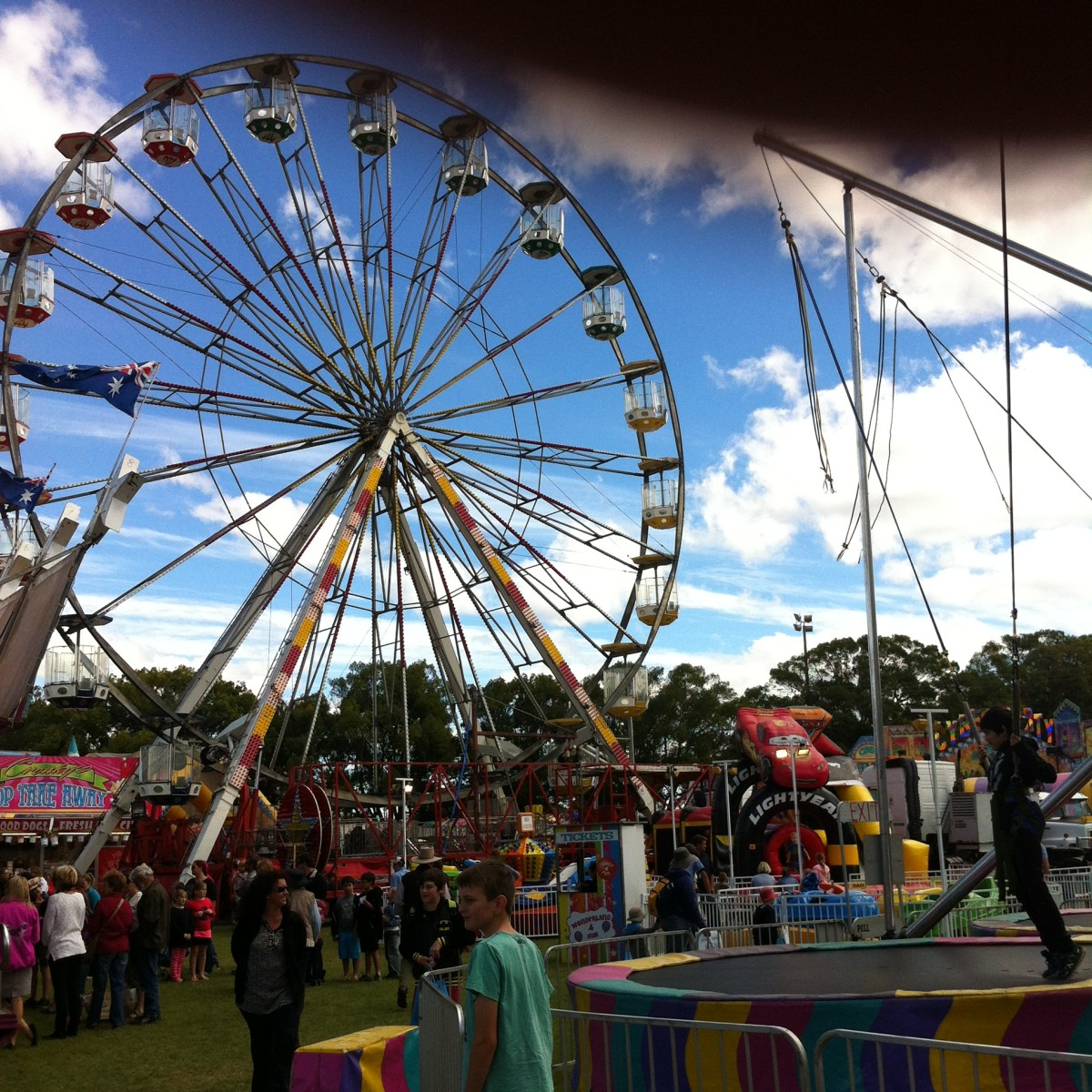 A Day at the Show (a poem about a day at a travelling fair or carnival)