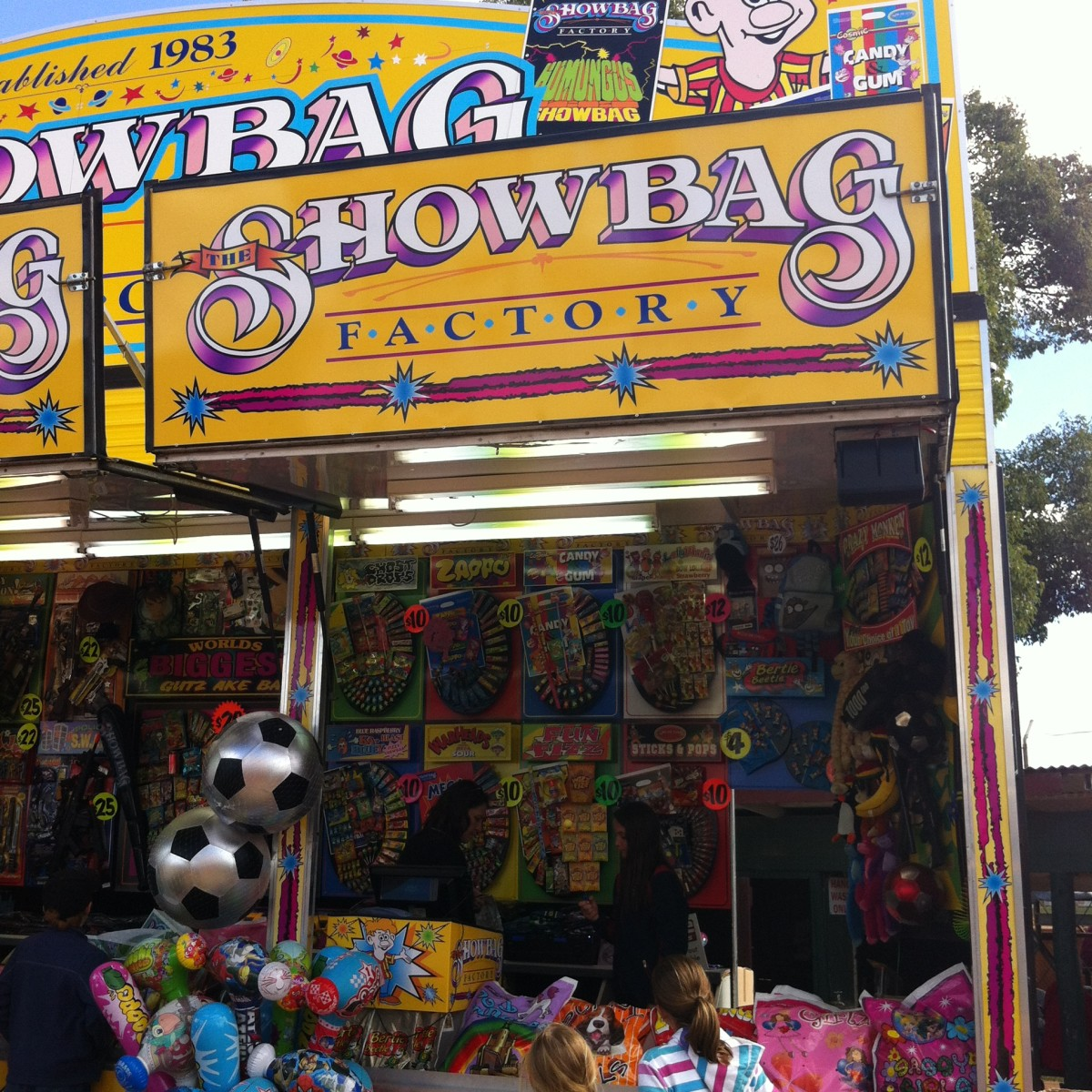 Show bag Stall/Kingaroy Show 2014