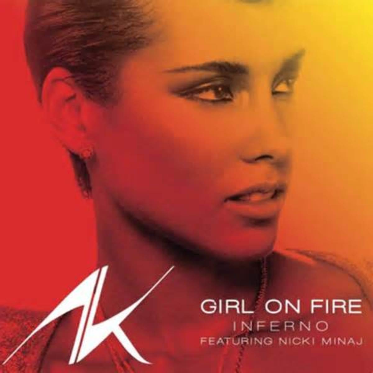 "Click on the link to hear ""Girl on Fire"""