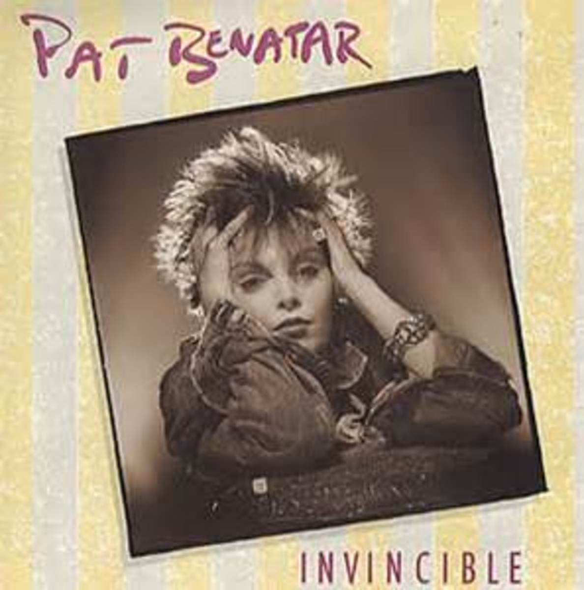 "Click on the link to listen to Pat Benatar's ""Invincible"""