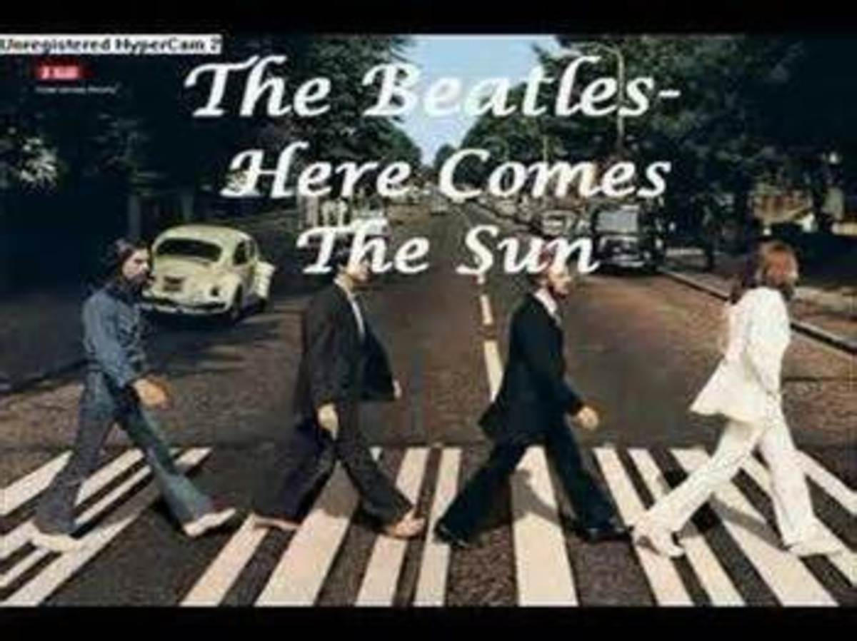 """Click on the link to listen to """"Here Comes the Sun"""""""