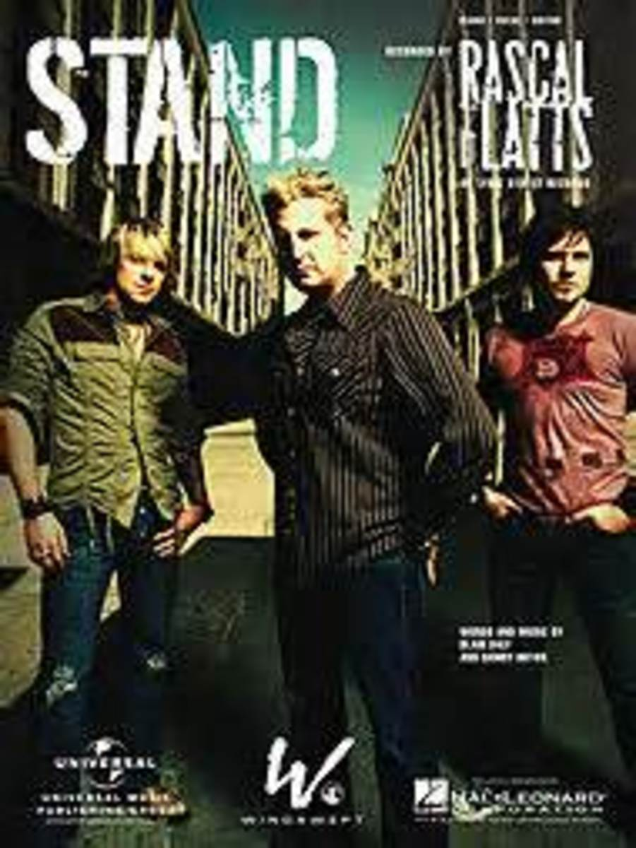 "Click on the link to listen to ""Stand"""