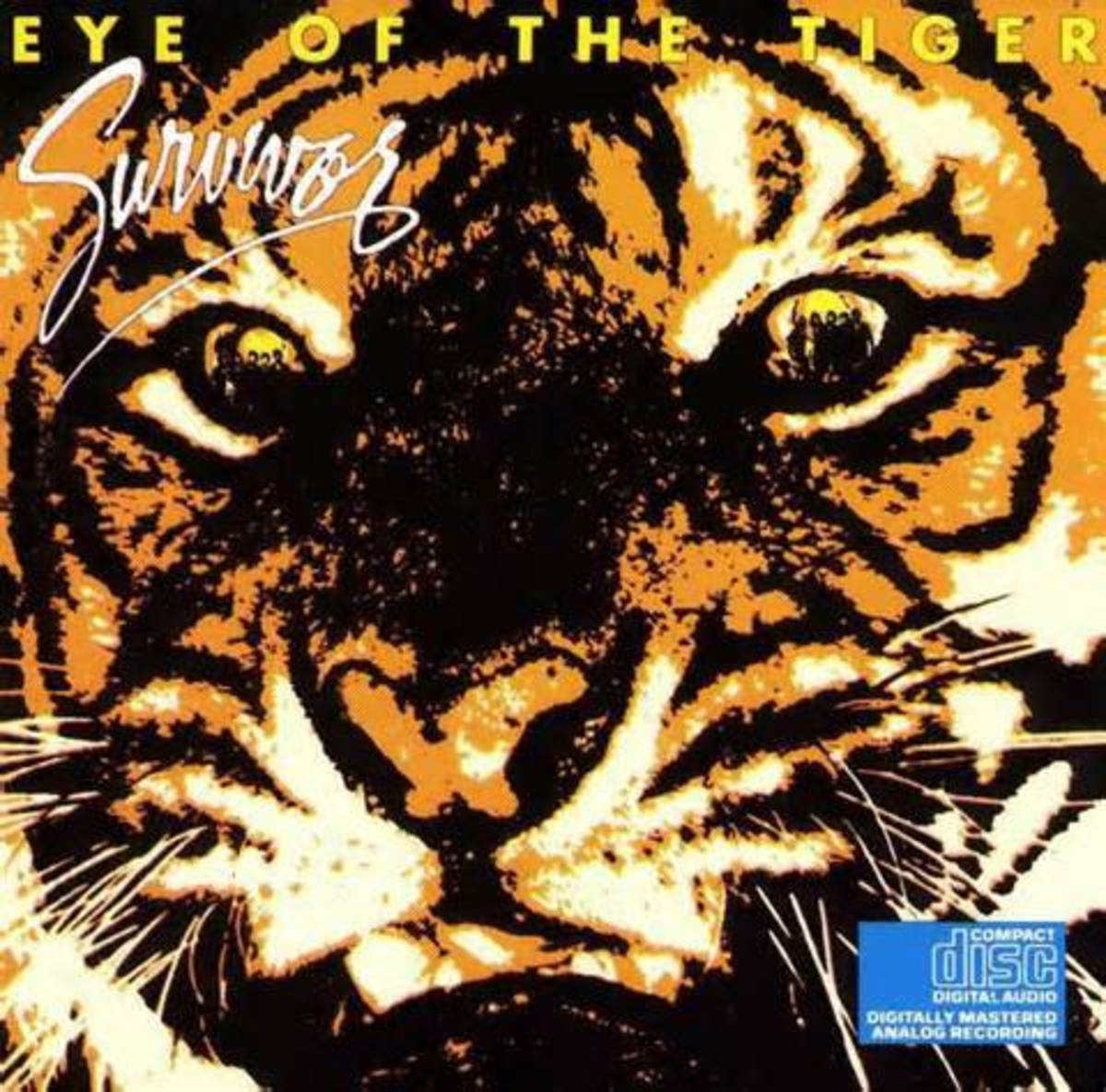 "Click on the link to listen to ""Eye of the Tiger"""