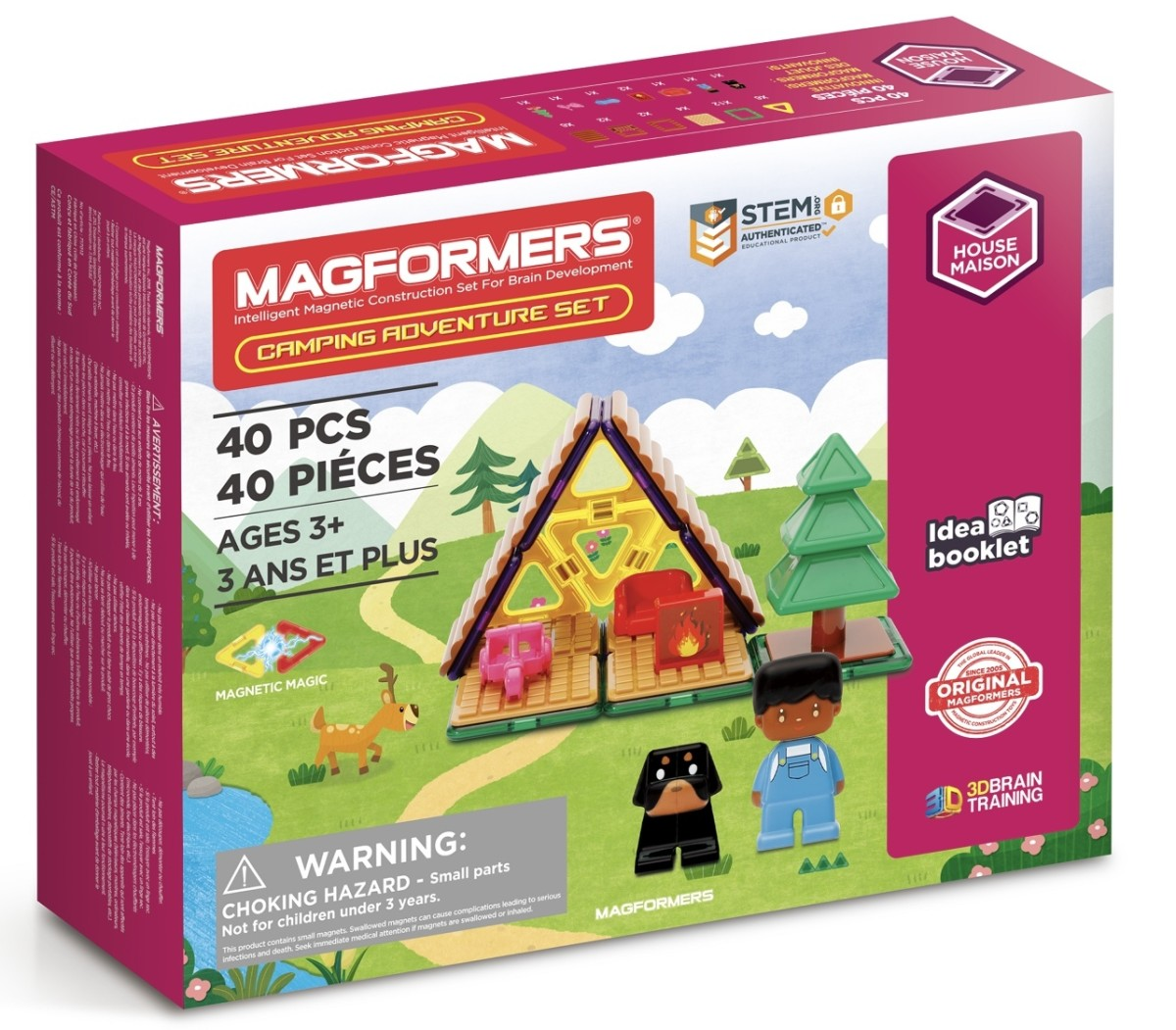 Gaming Fun For Kids and Those Older Comes From MAGFORMERS and Thames & Kosmos' EXIT Escape Room Games