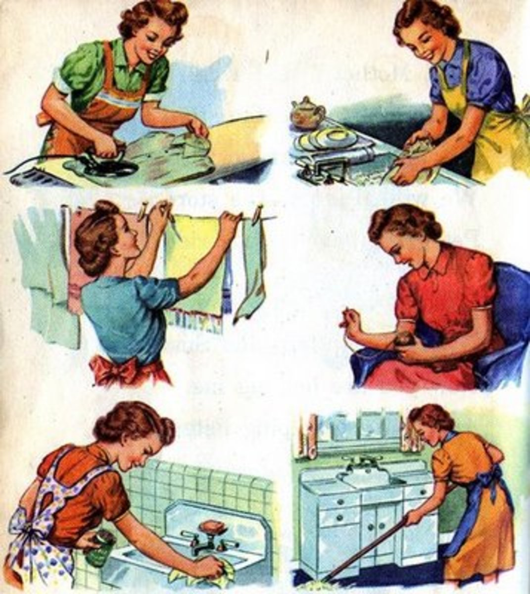 Housewife – What do housewives do?
