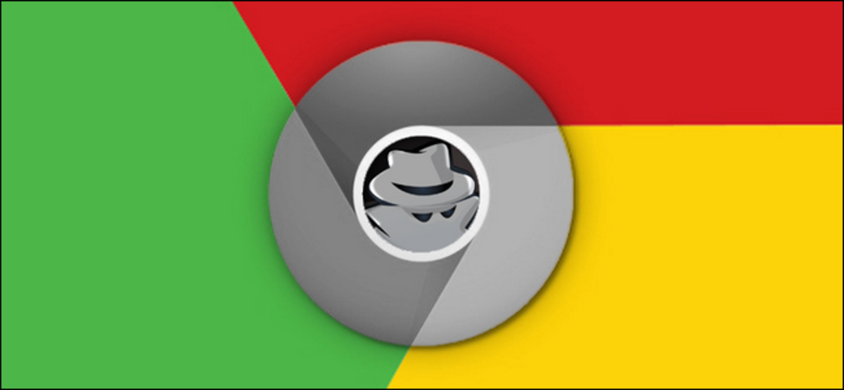 Incognito symbol inserted inside of Chrome logo