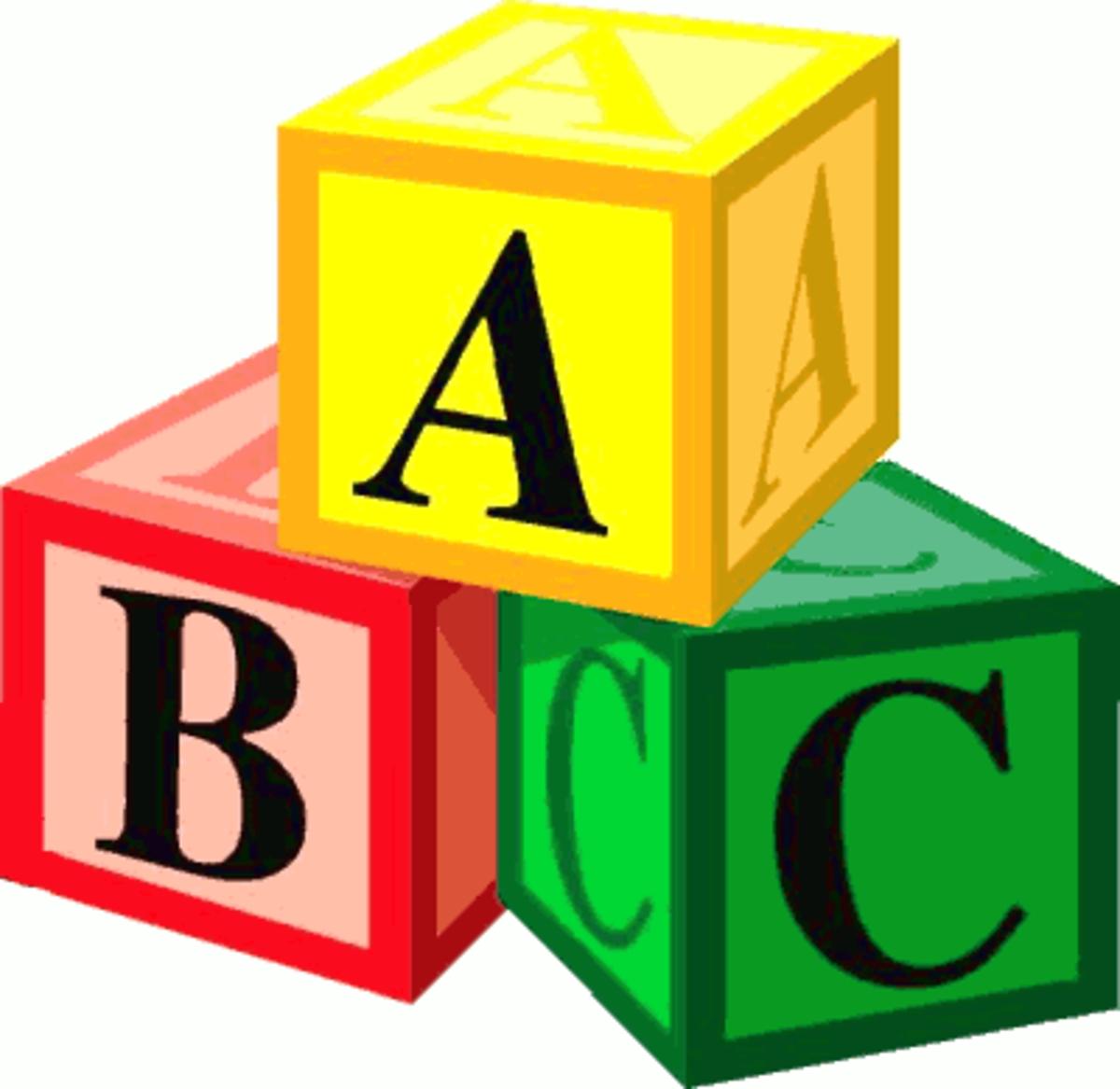 Das Alphabet; Das ABC