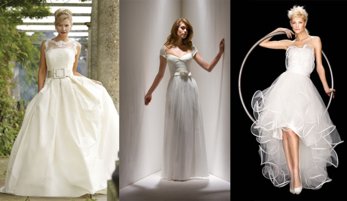 Gowns designed by Stephanie Allin, Sarah Danielle, Suzanne Ermann