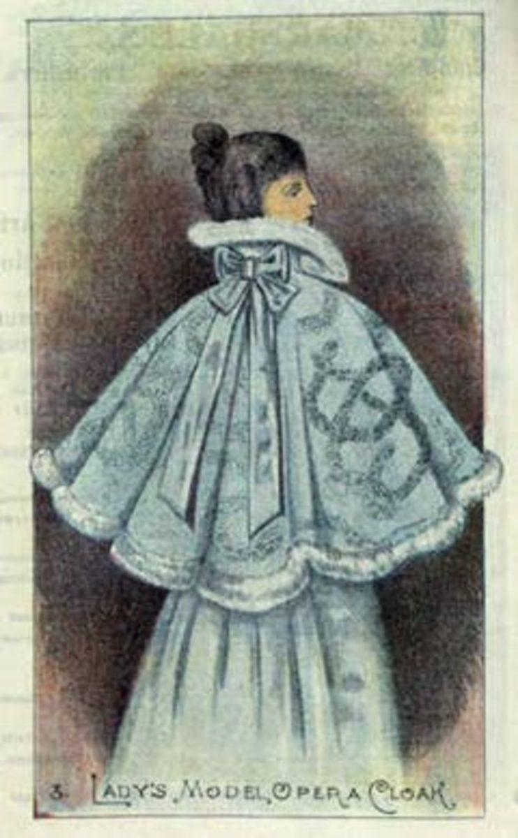 An opera cloak - courtesy of nla.gov.au