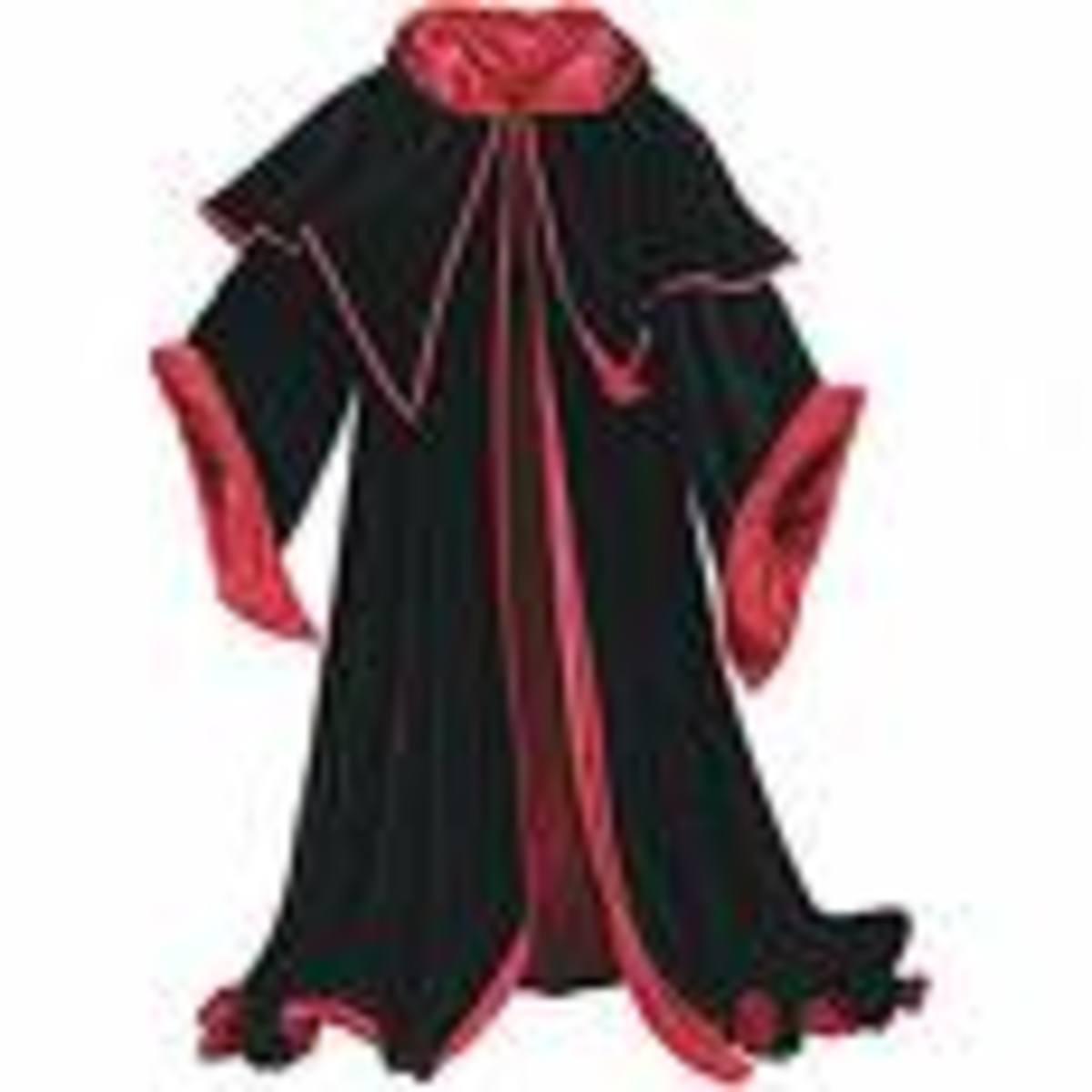 A sorcerer's cloak - courtesy of musicxspot.com