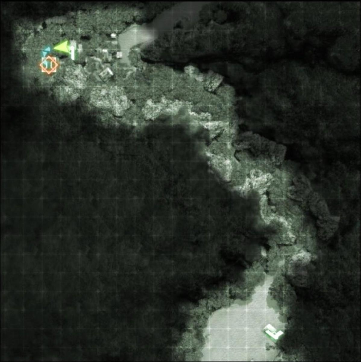 Gameplay: Heart of Darkness M-COM / Satellite Uplink 01.