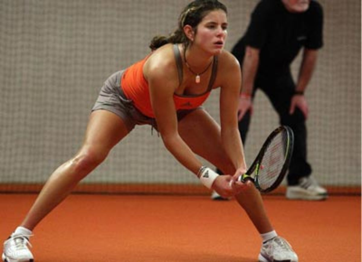 Julia Gorges -- pretty professional tennis player