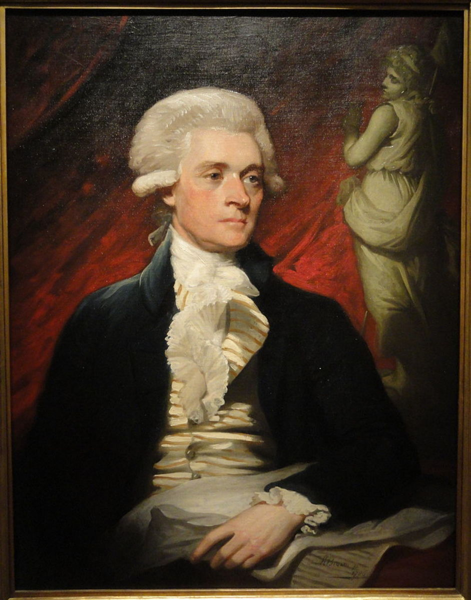 Thomas Jefferson, 3rd President of the United States.
