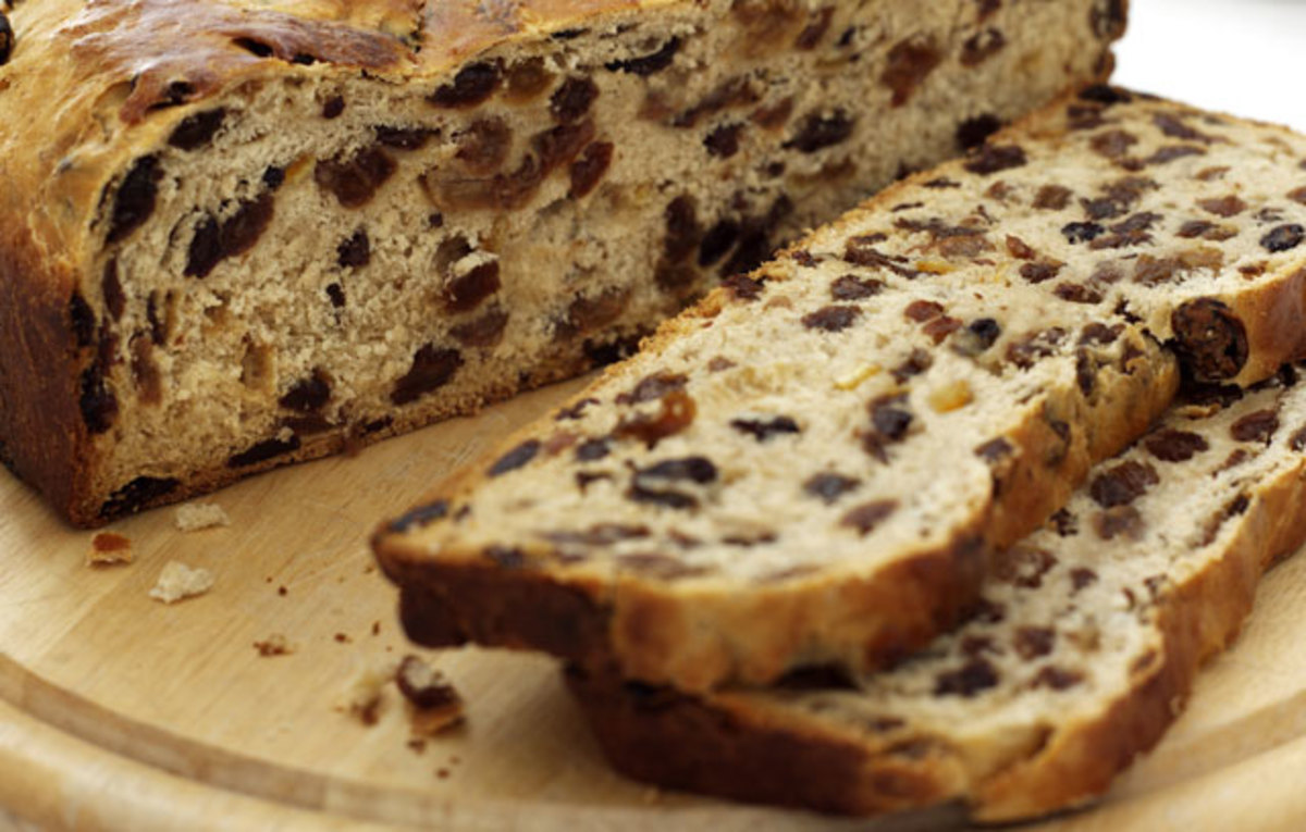 Barmbrack - What is Irish Fruit Bread?